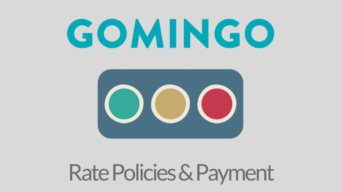 Gomingo Rate Polcies & Payment