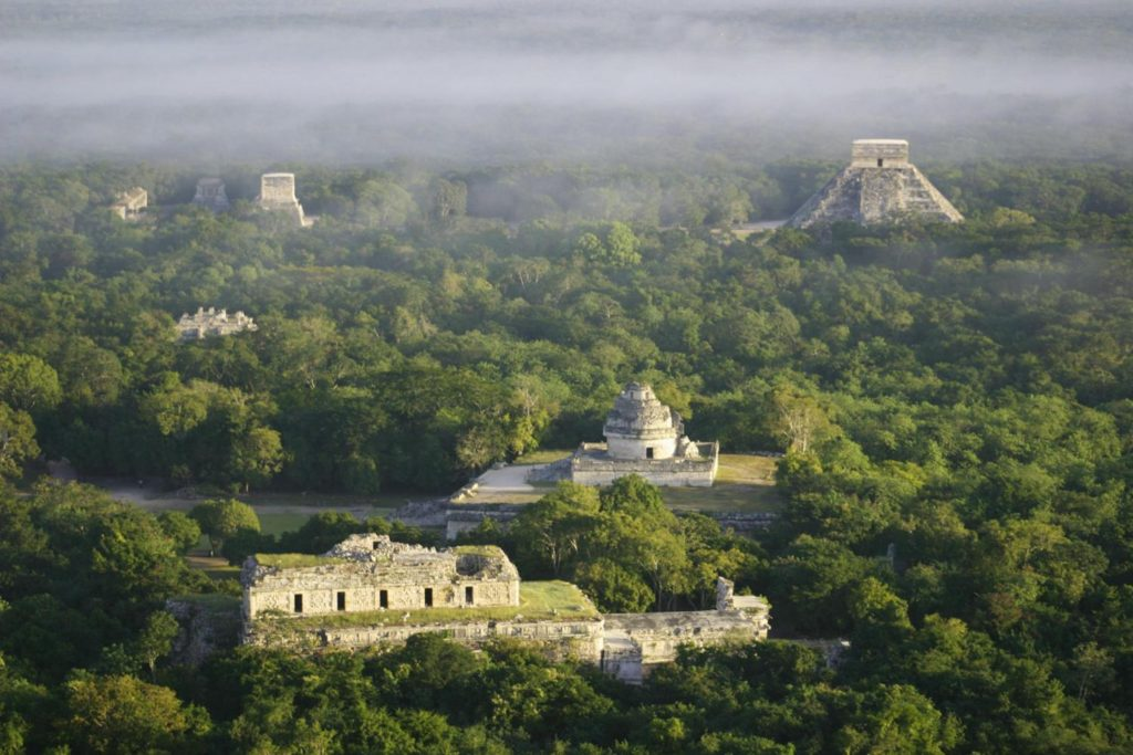 Uxmal is an ancient Maya city of the classical period in present-day Mexico.
