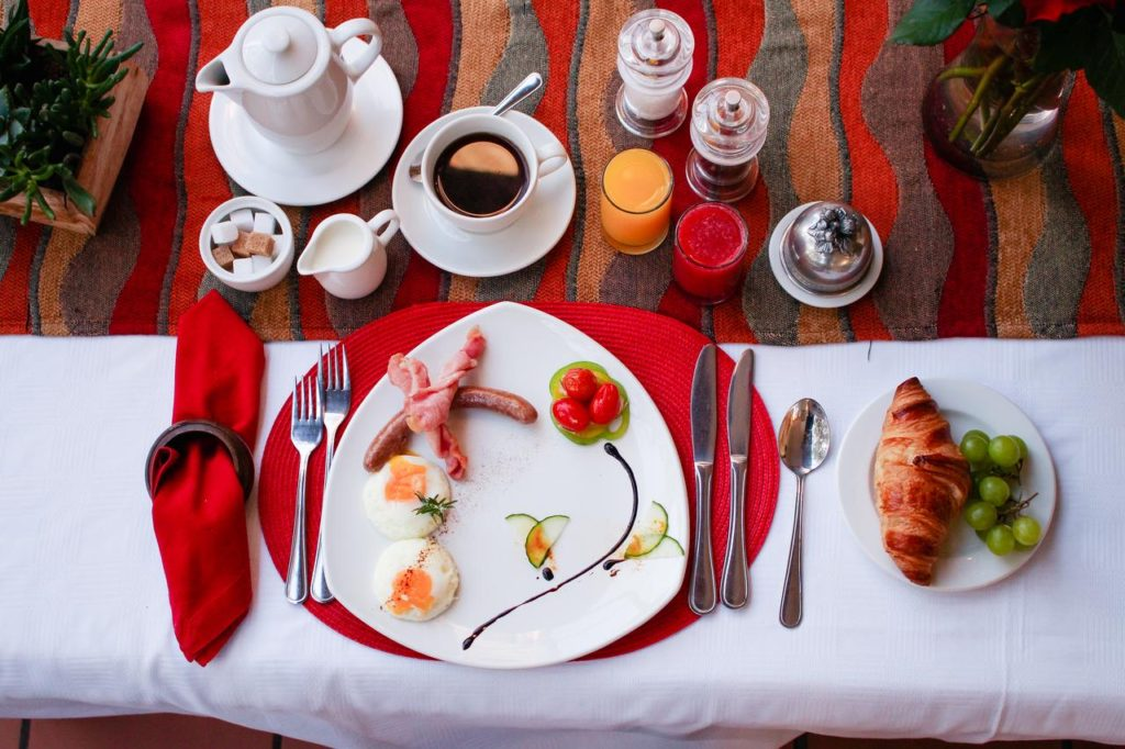 Whether you serve continental, full English take a picture and show your guests!