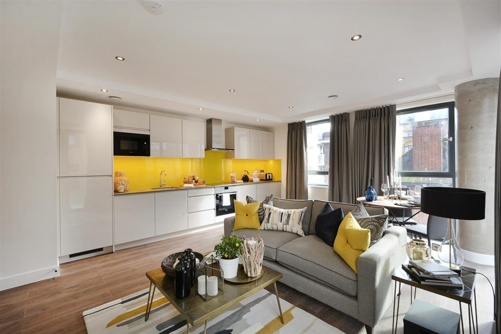 This stylish apartment in London adds another dimension to the image they portray to guests through showing their facilities in a well-organised manner.
