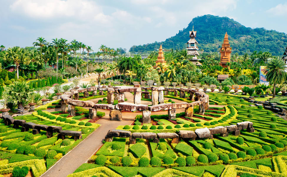 Image from the Nong Nooch Tropical Garden in Pattaya Thailand